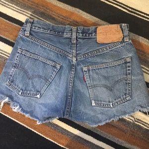 Levi's Shorts - Vintage Levi Cutoffs